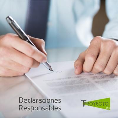 Declaraciones de Responsabilidad