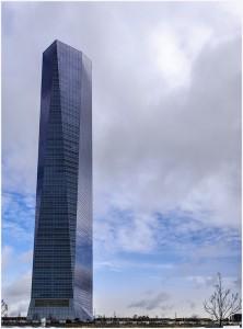 Tproyecto - Edificios más Altos de España - Torre de Cristal