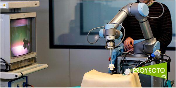Proyecto Broca. Robótica aplicada al sistema sanitario.