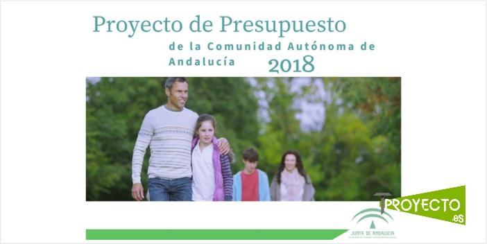 Presentación presupuestos Junta de Andalucía 2018